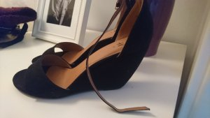 h&m sandalette keil neuwertig 39