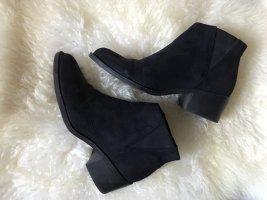 h&m schwarze boots low / gr. 39
