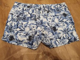 H&M Shorts white-blue