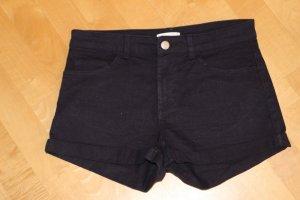H&M Shorts mid rise dunkelblau Gr. 32