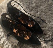 H&M Spitze Ballerinas zum Schnüren