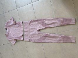 H&M Completo sportivo rosa antico