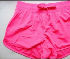 H&M Sport Shorts running fitness gym hot pink