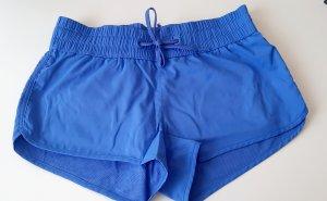 H&M Pantalón corto deportivo azul neón