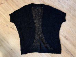 H&M Cardigan à manches courtes noir