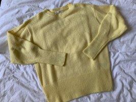H&M Strickpullover in gelb