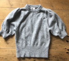 H&M Knitted Top grey-light grey