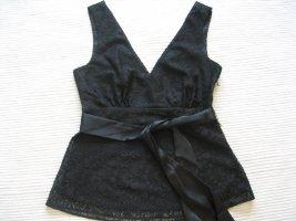 H&M top bluse spitzen neu gr. xs 34