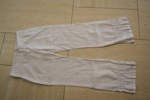 H&M Divided Pantalone di lino bianco