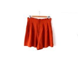H&M Pantalón corto de talle alto multicolor