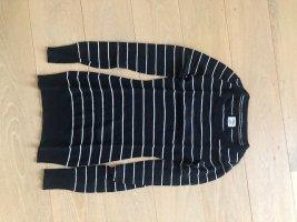 H&M Überlanger Pullover schwarz weiß gestreift