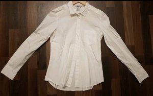 H&M - weiße Bluse mit Brusttasche