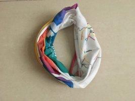 Neckerchief multicolored cotton