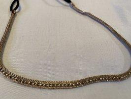 H&M Ribbon gold-colored-black