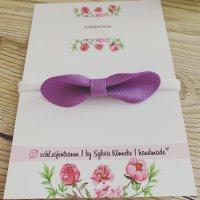handmade Bandeau cheveux violet