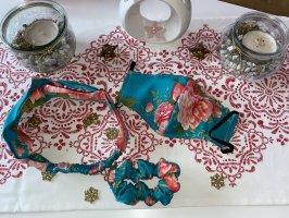 Haarband, Pferdeschwanz und Maske 3 Stück Set