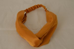 H&M Haarband geel-donkergeel Polyester