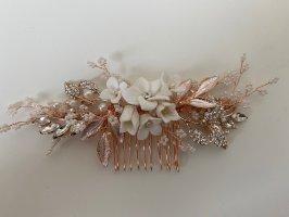 Hair Clip rose-gold-coloured-white