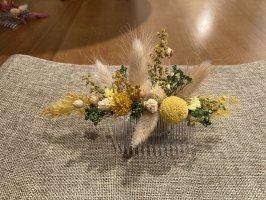 Haarkamm - Haarschmuck - Trockemblumen - Hochzeit