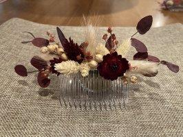 Haarkamm - Haarschmuck - Trockenblumen Hochzeit