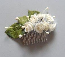 Spilla per capelli multicolore Acrilico