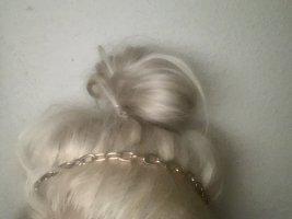 Opaska na włosy czarny-złoto