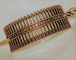 Accesorio para el pelo color bronce metal