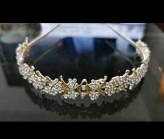 Hair Circlet silver-colored-gold-colored