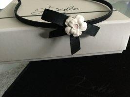 Dolce & Gabbana Tocado negro-crema