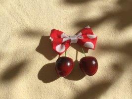 Bijoux pour la tête rouge-blanc