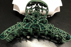 Hair Pin forest green