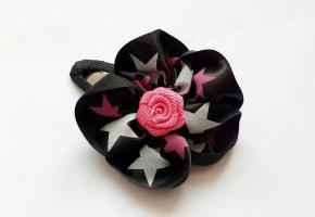 Haarspange Sterne und Rose Girls Rockabella Schmuck