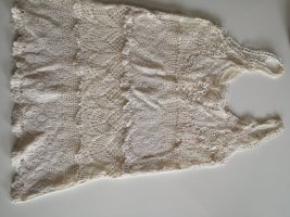 Crochet Top natural white