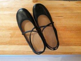 Haflinger Ballerines à lacets noir