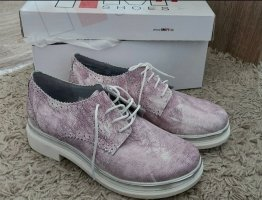 iiM77 Wingtip Shoes silver-colored-lilac