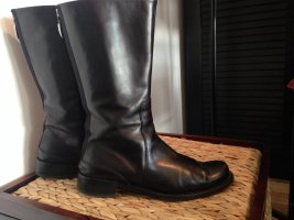 Attilio giusti leombruni Buskins black leather