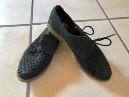 Apple of eden Chaussures à lacets noir-marron clair