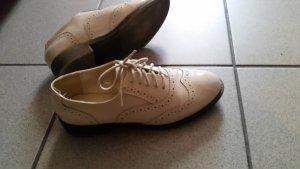 Asos Lace Shoes beige