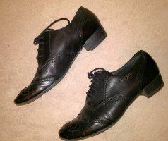 Halbschuhe Leder Schuhe (Venturini), Gr. 39