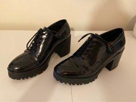 Zara Trafaluc Lace Shoes black
