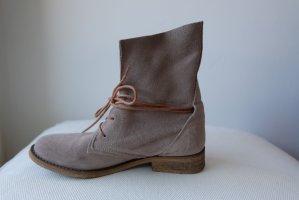 SPM Shoes & Boots Cothurne gris cuir
