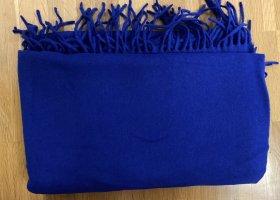 Hallhuber Wollen sjaal blauw
