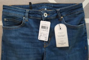 HALLHUBER DENIM Skinny Jeans MIA, Stretch Candiani Denim, Mid Waist, Größe 38, Middle Blue