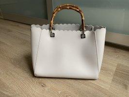 Hallhuber Handtasche mit Bambushenkel