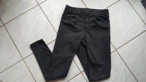 Hallhuber Jeans slim fit nero Cotone