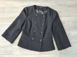 HALLHUBER Kurz-Jacke, Blazer-Stil, 3/4Arm, schwarz, Gr.36