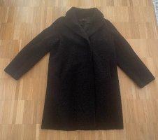 Hallhuber Mantel in schwarz Gr. 34