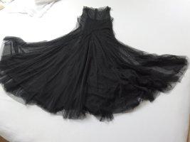 Hallhuber Sukienka maxi czarny Poliester