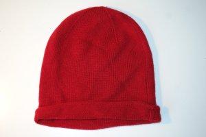 HALLHUBER Mütze aus Kaschmir in rot