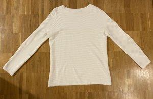 Hallhuber Pullover in weiß Gr. S